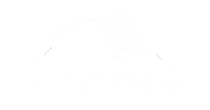 White logo for video game studio Cloudhead Games