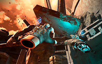 Finding the fun in VR-centric design: Telekinesis