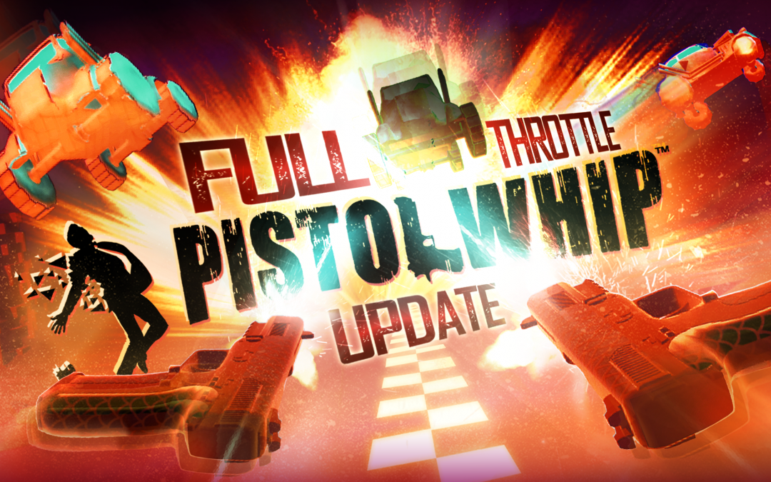 "Put the Pedal to the Metal in Pistol Whip's new ""Full Throttle Update"""